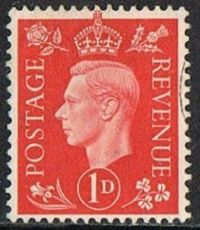 GB SG463 1937 Definitive 1d good/fine used